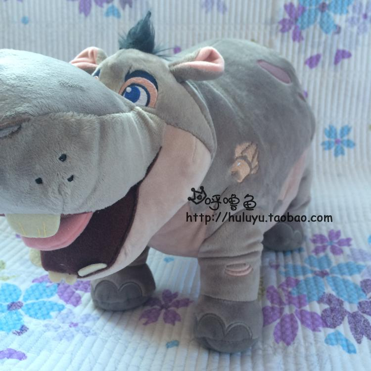 free shipping 25cm the lion king hippo plush stuffed toys for children action figure plush dolls kids toys gift 829(China (Mainland))