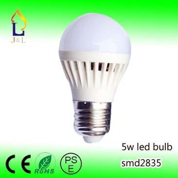 100pcs/lot led bulb led lamp 110V 220V 230V 240V 5w Light Bulb For Home Led Lamps(China (Mainland))