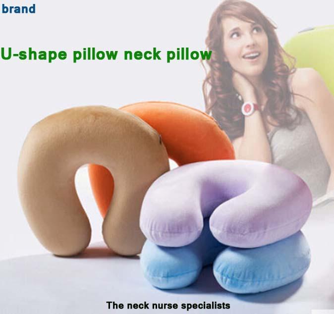 refeel Patent technology duckbill u-shaped pillow travel neck cervical pillow nap U office neck memory pillow(China (Mainland))