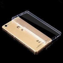 Мобильный телефон coque случае для huawei p8 lite p8lite макс крышка из прозрачного кристалла ультратонких прозрачный тпу невидимый силиконовый(China (Mainland))