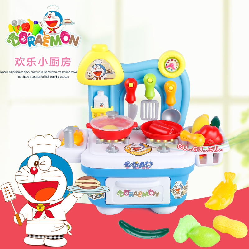 new Arrival Children's Toy House Kitchen Girl Toy Plastic Kitchen Play Set Toy(China (Mainland))