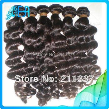Malay-sian vir-gin hair loose natural wave 3pcs lot rosa hair products natural color malay-sian hair weave mocha hair extension