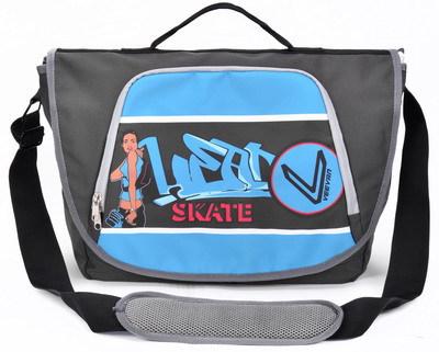 VEEVAN Pu material new 2014 Leisure sports messenger bags multi-function large capacity comfortable handbag MBBSB0008510(China (Mainland))