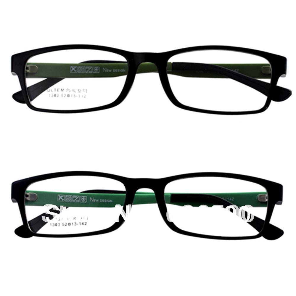 2 prs premium clear lens frames mens womens fashion