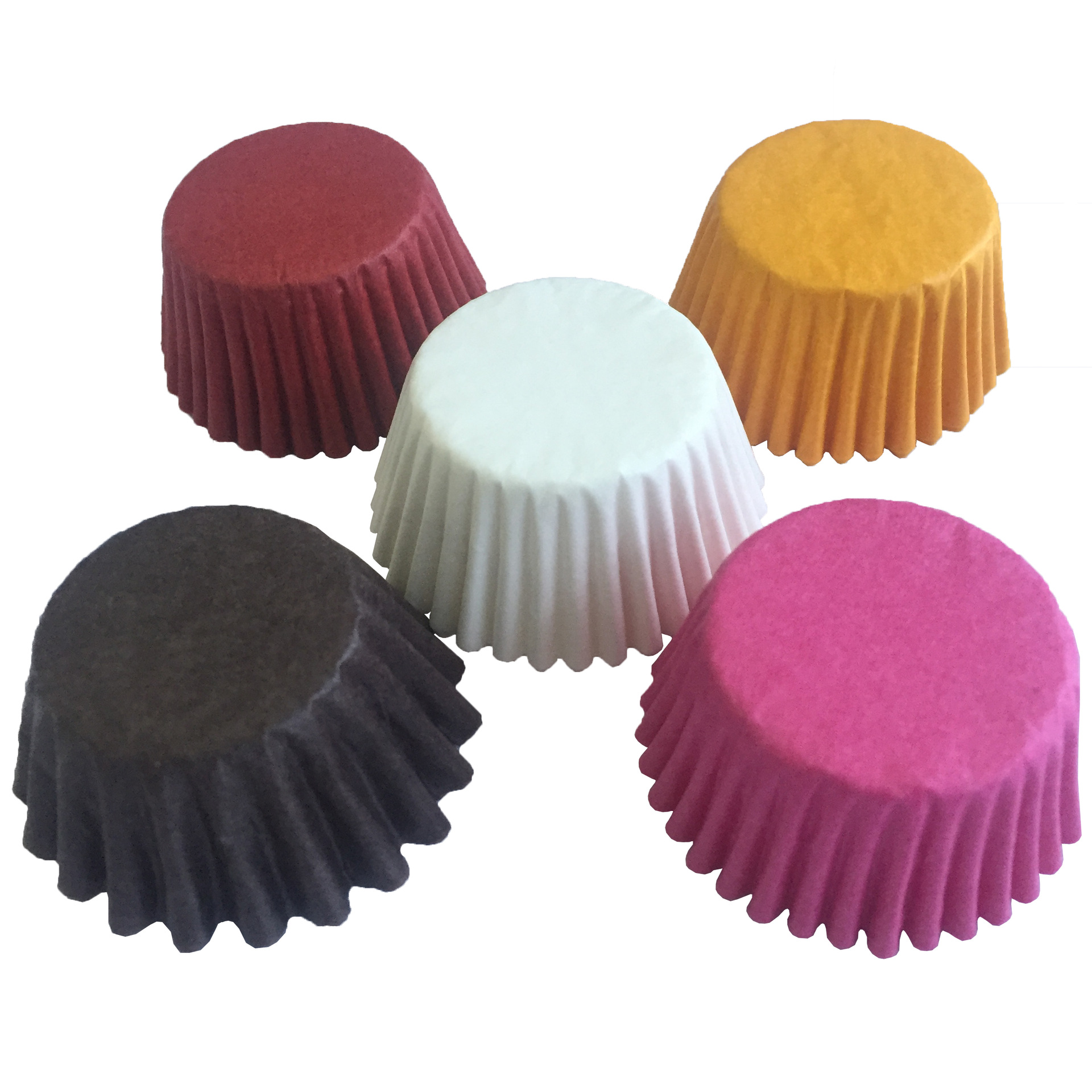 500&1000 pcs 3 size Color Cupcake Liner Baking Cups Cupcake Mold Paper Muffin Cases Cake Decorating Tools E135(China (Mainland))