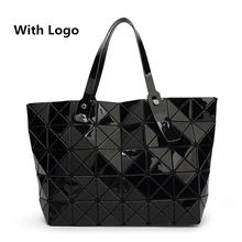 2016 New Bao bao women pearl bag Diamond Lattice Tote geometry Quilted shoulder bag sac bags handbags women famous brands