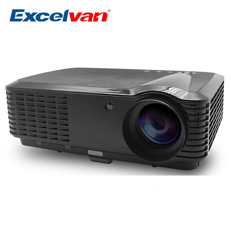 Excelvan Cl720 Full Hd Home Theater Projector 3000 Lumen: Excelvan HD Projector Home Multimedia Projector Cinema