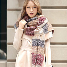 2015 Bufandas Winter Hot Sale Limited Geometric Adult Cotton 135cm-175cm Scarf Fashion Spain Women Thick Scarves Shawl for(China (Mainland))