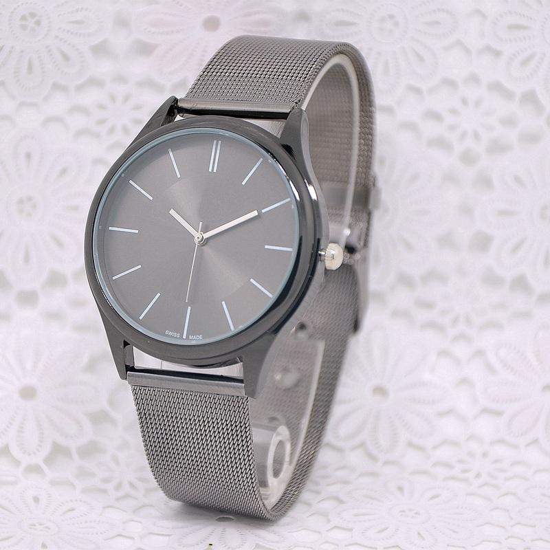 2016 Quartz Watch Men Women Top Brand Stainless Steel Watches Relojes Hombre Horloge Orologio Uomo Montre Homme K watch<br><br>Aliexpress