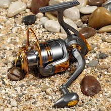 Specials ! DB3000 metal head lures fishing reel fishing reel spinning wheel raft round rock fishing gear fishing vessel Wholesal