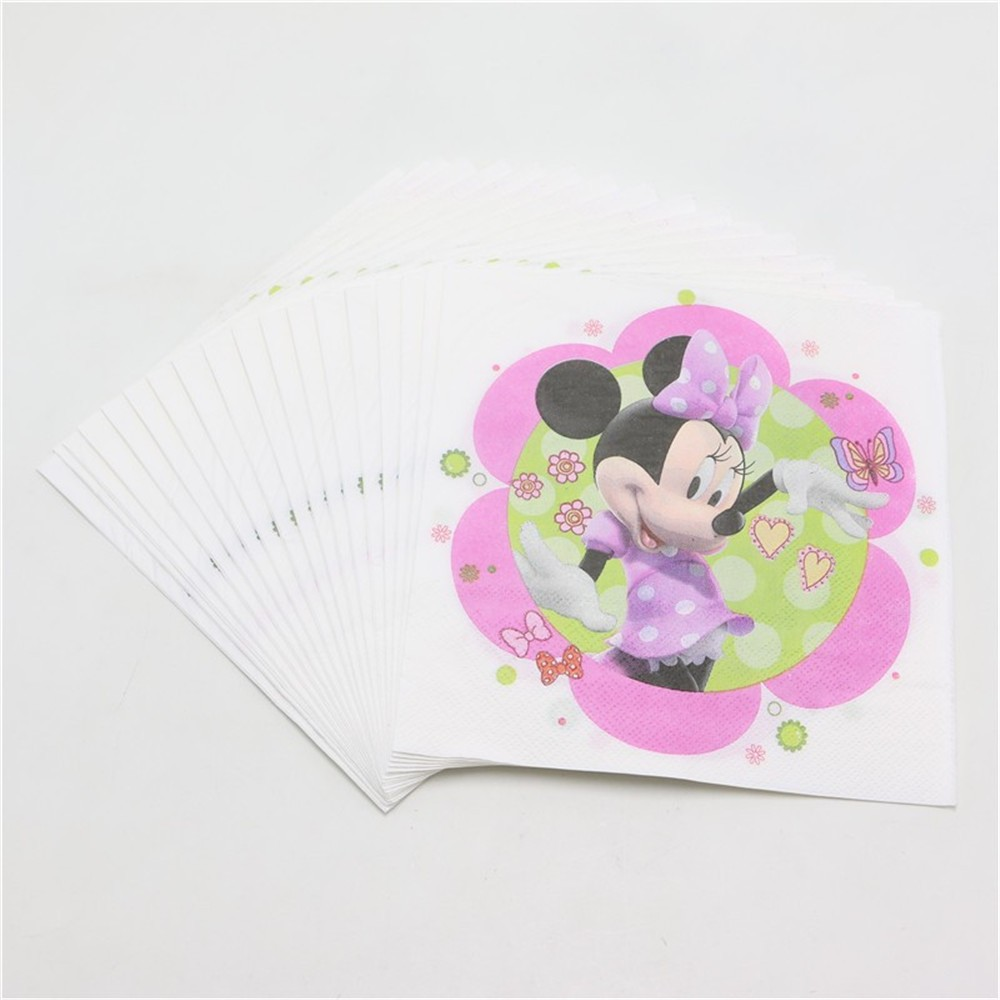 Online get cheap baby minnie mouse decorations aliexpress for Baby minnie mouse party decoration