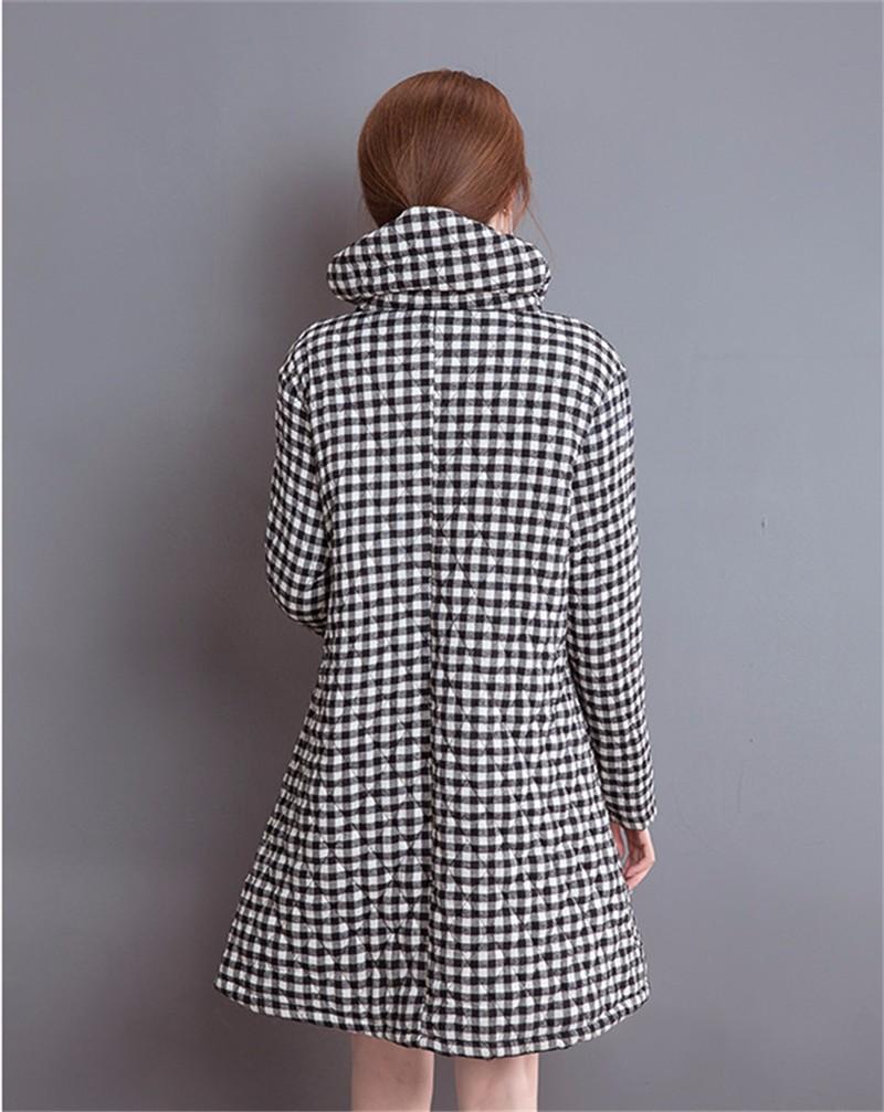 Скидки на 2016 Мода как Искусство ретро народная ветер пальто случайные свободные пальто женщины большой размер Хлопок одежда Топы