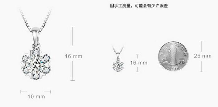 Игристое сердца и стрелы цирконом бриллиантовое колье кулон 100% стерлингового серебра 925 пробы снега цветочные украшения ожерелье ZNA101