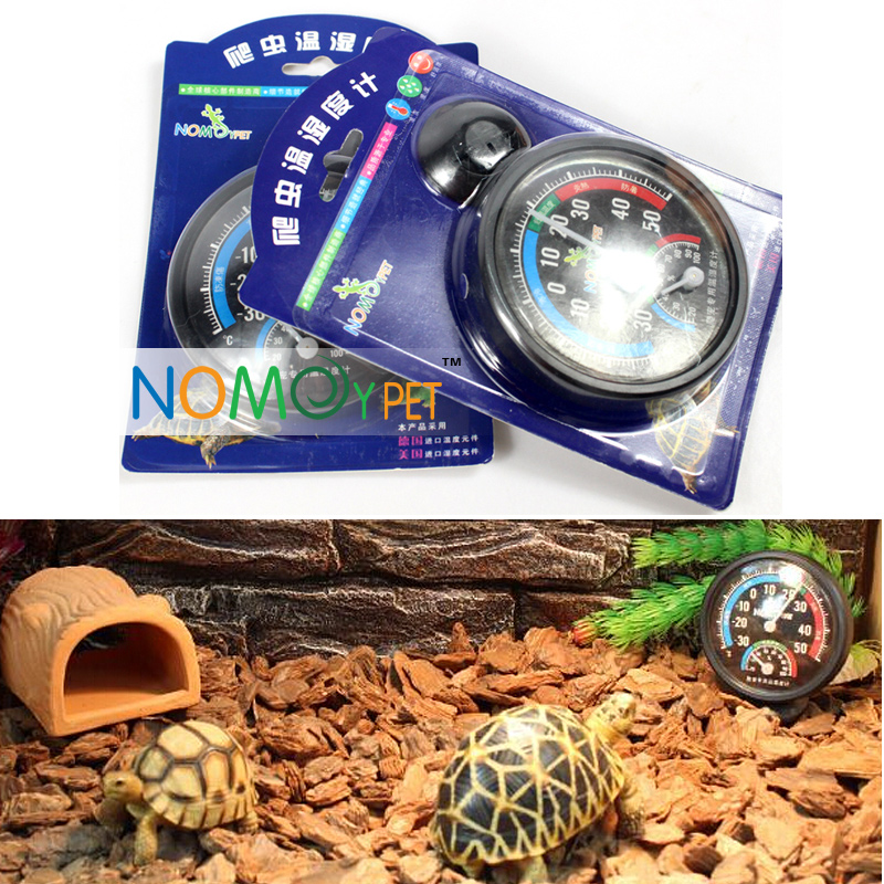 2016 New Pet Supplies Insects Reptile Terrarium box thermometers spider tortoises lizards snakes 2in1 hygrometer thermometer(China (Mainland))