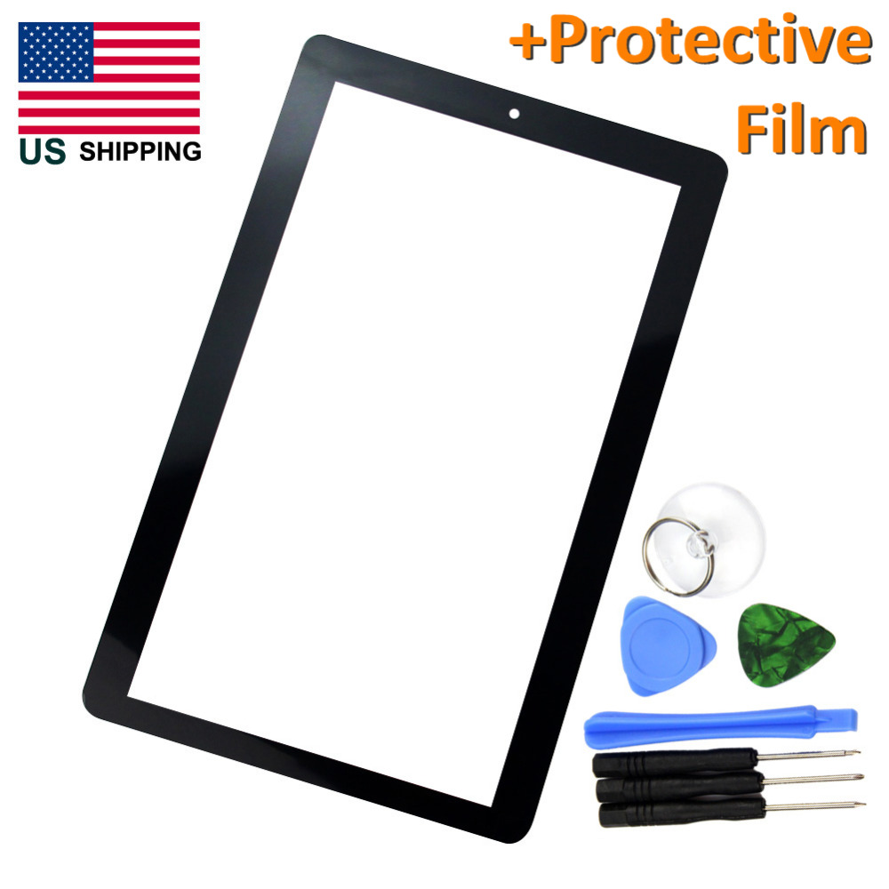 "US SHIPPING - For RCA PRO10 Edition RCT6203W46 Digitizer Touch Panel 10"" Tablet Touch Screen + Repair Tools + Protective Film(China (Mainland))"