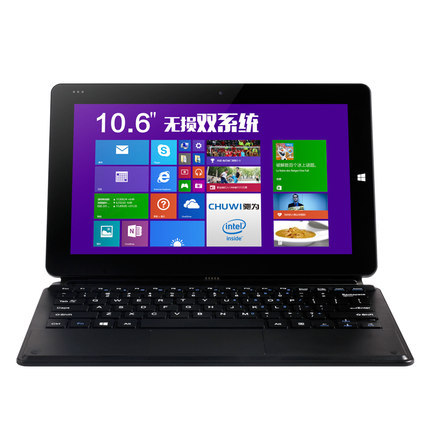 Newest 10.6''dual OS laptop Netbook Windows8.1+Android4.4 Intel Z3736F Quad Core 2GB 64GB ROM HDMI WIFI Bluetooth external 3g(China (Mainland))