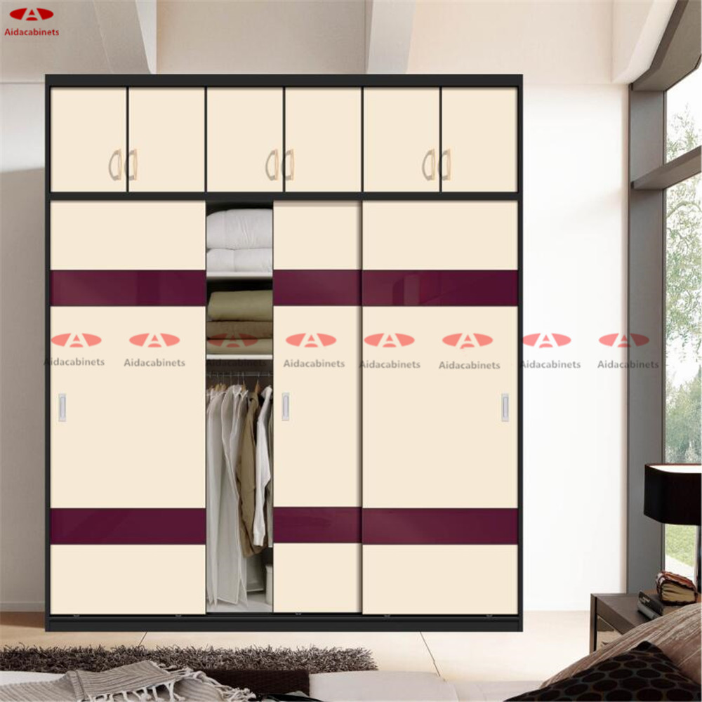 China custom made cheap closet organizers indian wooden for Bedroom wooden wardrobe designs india