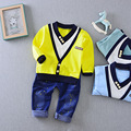 2017 Spring New Boy Fashion Suits T shirt and Pants 2 Sets of Children s Wear