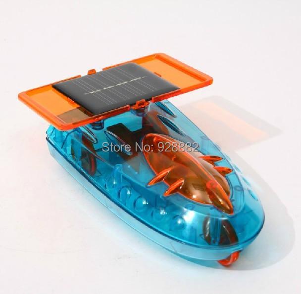 Eastcolight #28401 Children's DIY Assembled Creative High-tech Solar Powered Car Model Toys - Solar Racer For Boy's Best Gift(China (Mainland))