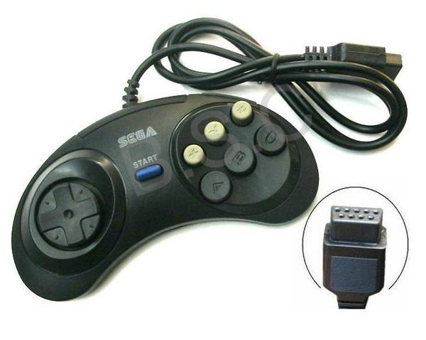 2pcs/set Video Game Controller Sega Mega Drive 16Bit Controller Game Handle game accessories(China (Mainland))