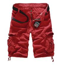 Mens Military Cargo-Shorts 2016 Marke neue Armee Camouflage Shorts Männer Baumwolle Lose arbeiten beiläufige kurze Hosen plus Größe keine Gürtel(China (Mainland))