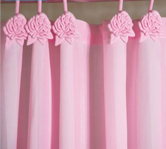 bathroom shower curtain waterproof mouldproof thicken elegant fabric ...