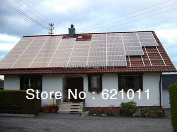 Free shipping 4KW stand alone solar energy system, solar generaror include solar panel, battery, inverter and other parts