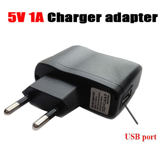 Universal Mobile Phone AC 100-240V to DC 5V 1A / 1000mA USB Port Charger EU Plug Power Supply Adapter for Iphone samung htc()