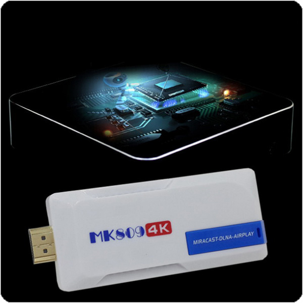 by dhl or ems 20 pieces MK809 4K Android TV Stick TV Dongle RK3288 Quad Core 2GB /8GB H.265 Bluetooth 4.0 DLNA Wimo Android 4.4(China (Mainland))