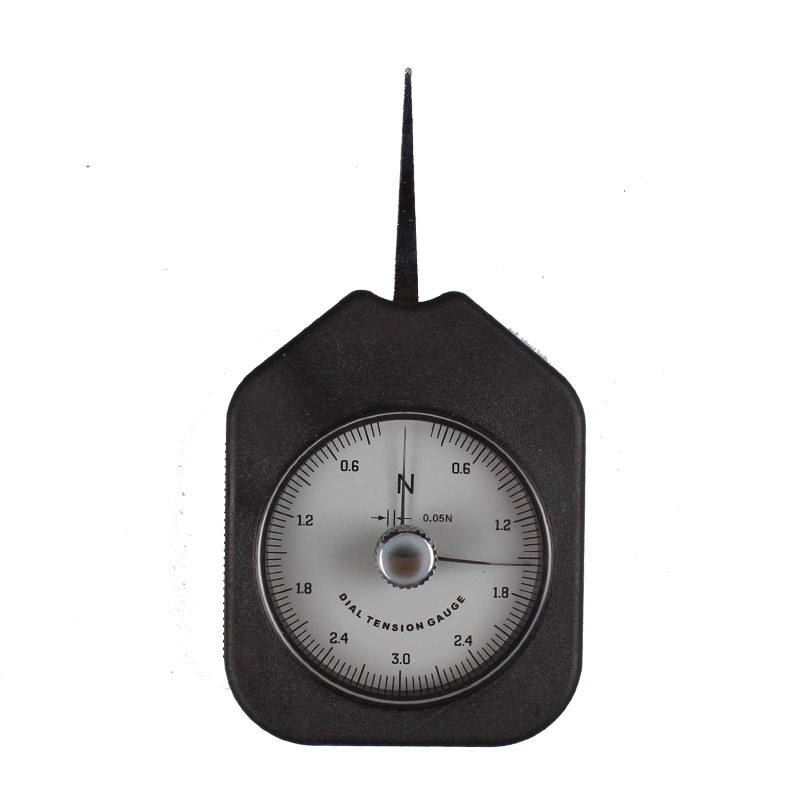 Force Measuring Instruments : Handpi double needle dial tension gauge htd n in