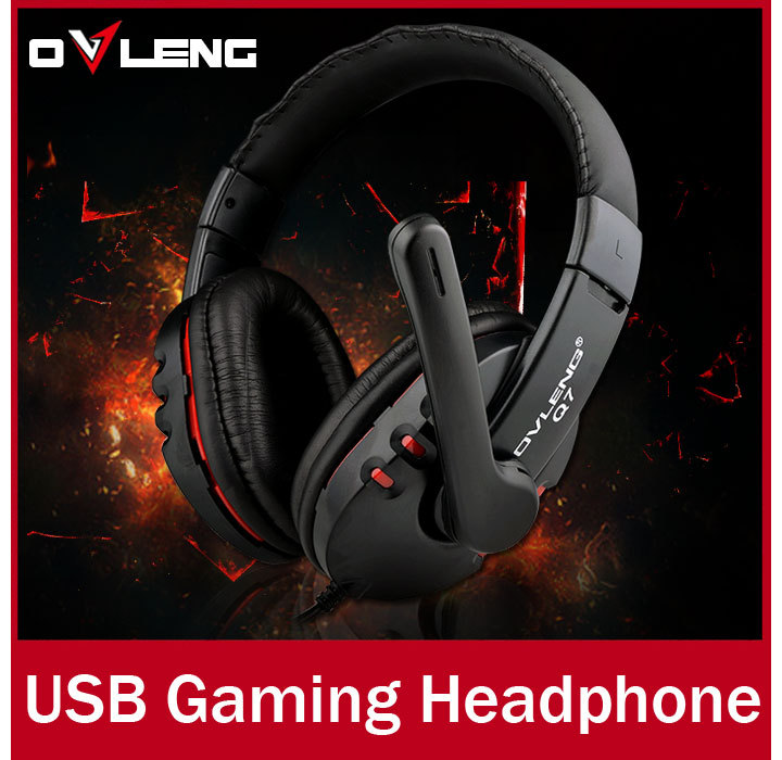 Гаджет  Best Cheap USB Wired PC Computer Gamer headset, High Quality 7.1 Gaming Headphone with Microphone for PS3 None Бытовая электроника