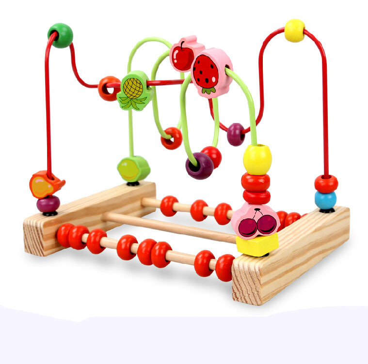 Bead Roller Coaster Wire Maze Roller Coaster