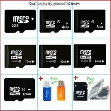 free shipping Micro SD Card 64GB 8GB 16GB 32GB 128GB Class10 2GB 4GB Class 4 Flash Memory Card Microsd for Smartphone