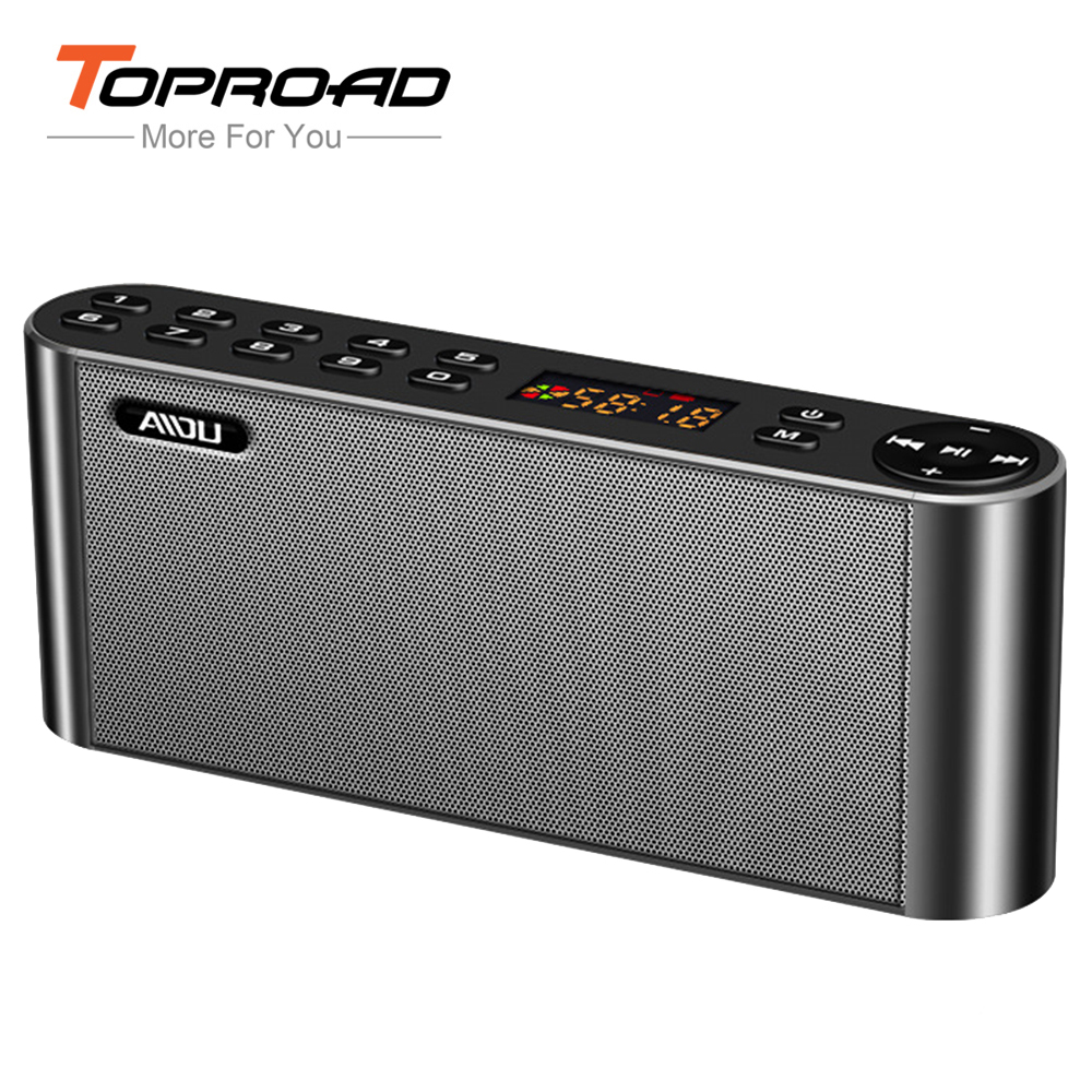 HIFI Bluetooth Speaker Portable Wireless Super Bass Dual Speakers Soundbar with Mic TF FM Radio USB Sound Box for Mobile Phones(China (Mainland))