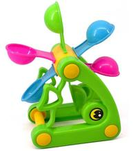 Free shipping Fish Beach Toys,Waterwheel/Wheel Type Dabbling Toy, Hourglass,Favorite baby gift