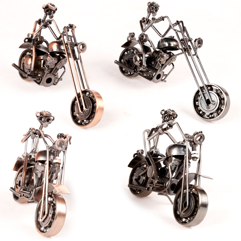 Wrought Iron Motorcycle Model Furnishing Articles Classics Office & Home Decoration Gifts M11-1 M12 / M12-1 M16 / M16-1(China (Mainland))