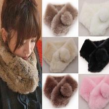 fur neck warmer promotion