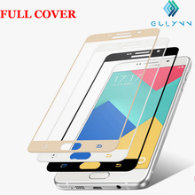 Buy HO T3D Curved Edge Full Cover Premium Tempered Glass Screen Protector Samsung Galaxy A5 2016 A3 A7 2016 A710 Protective Film for $2.84 in AliExpress store
