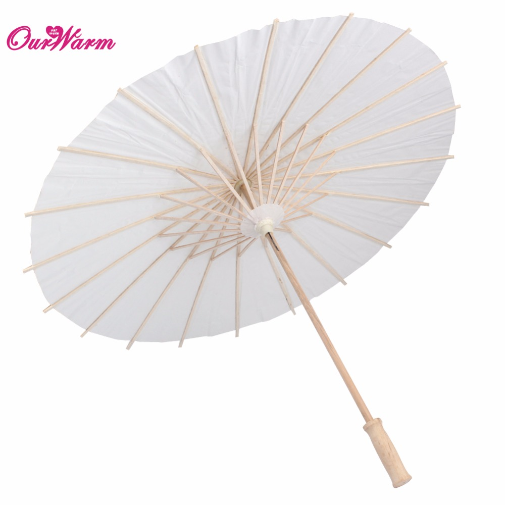 Bamboo umbrella wedding