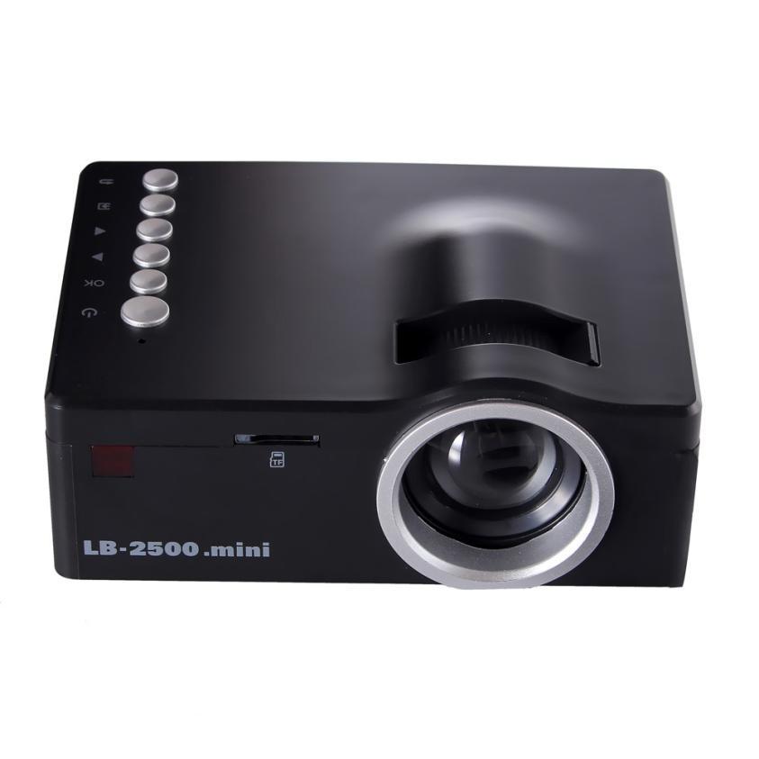 Brand Projector LED Home MulitMedia Theater Cinema USB TV VGA SD HDMI Mini Projector With Remote ControllerAV Cable US Plug #205(China (Mainland))