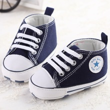 Newborn Baby First Walkers Shoes Spring Autumn Boys Girls Kids Infant Toddler Classic Sports Sneakers Soft Soled Anti-slip Shoes(China (Mainland))