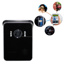 Newest Wireless WiFi Video Visual Door Phone Doorbell Intercom System Home Security for iPhone Samsung Mobile Phone Tablet PC(China (Mainland))