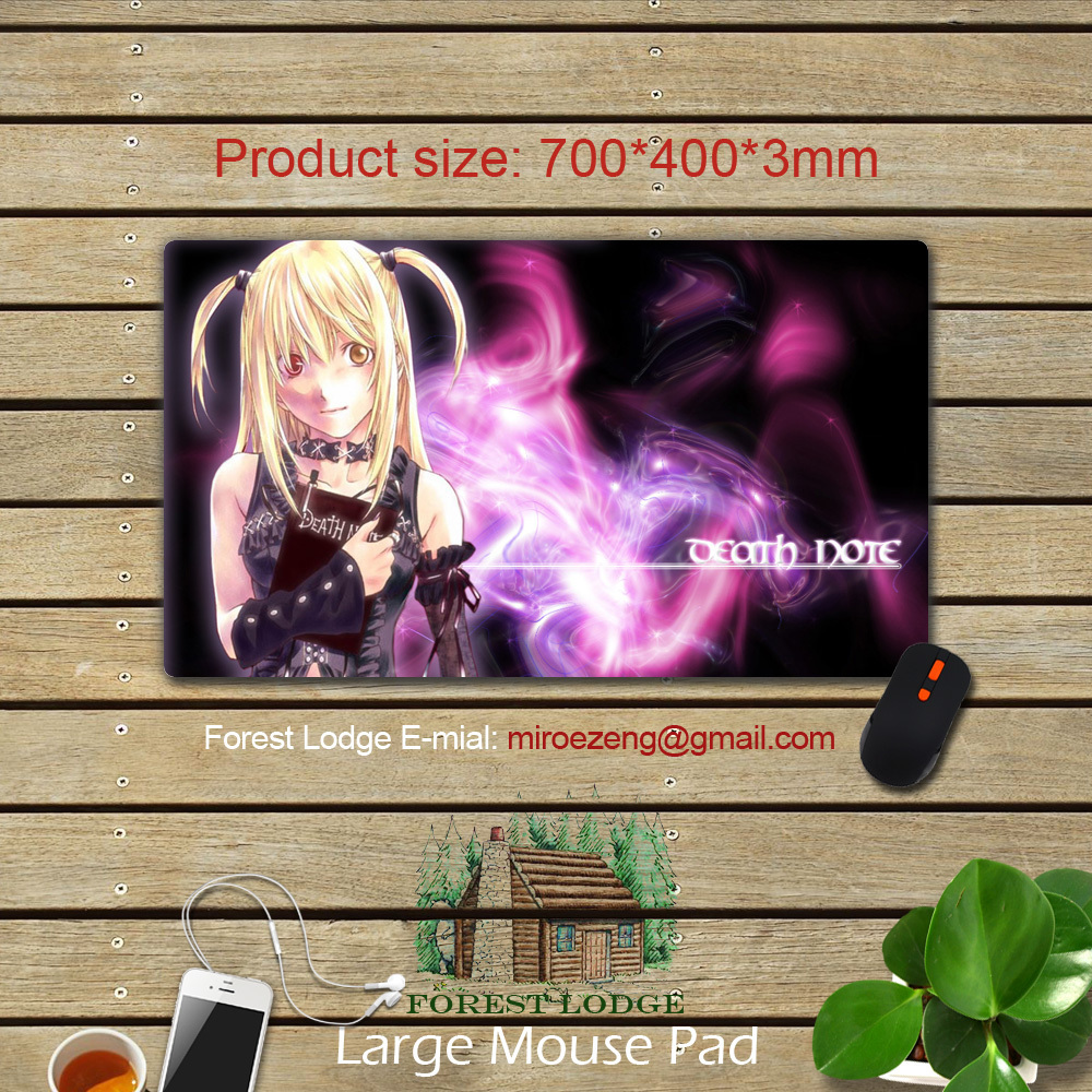 Anime Mouse Pad / Japanese Anime DEATH NOTE #FL1010DN Customized Desk & Mouse Pad Table Play Mat(China (Mainland))