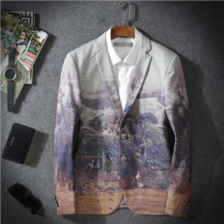 Men Blazers 2016 New Winter Brand Fashion High Quality Business Dress Slim Fit Two Button Casual Suit Jacket Doudoune Homme JasОдежда и ак�е��уары<br><br><br>Aliexpress