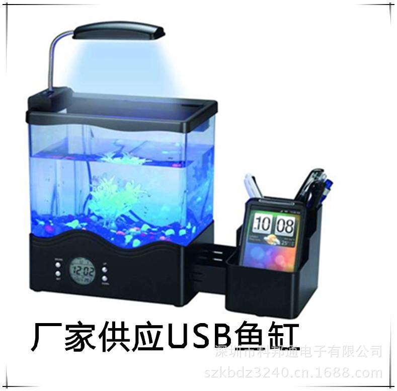 De poissons bureau aquarium promotion achetez des de for Mini poisson aquarium