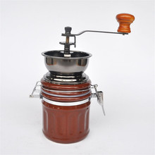 Ceramic high quality coffee bean grinders Manually / hand-cranked food grinders disintegrator kitchen tools ceramic core