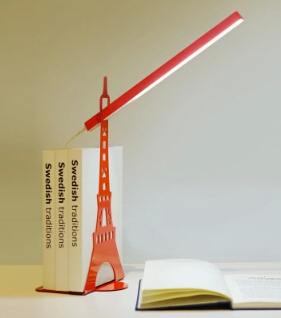 art of iron eiffel tower led table lamp for bed room office desk reading book lamp multicolors night light AC110/220V1786(China (Mainland))
