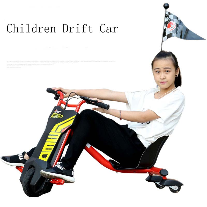 Kids Outdoor Fun & Sports Ride On Toys 3 Wheel Electric drift car Children's Bicycles Child Beach Car(China (Mainland))