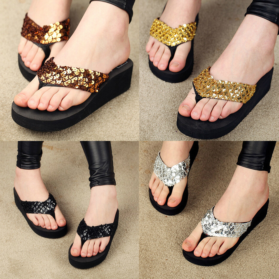 2015 summer fashion women sandal Beach home flip flops slippers female flat sandals 5-9 Size hot Sales(China (Mainland))