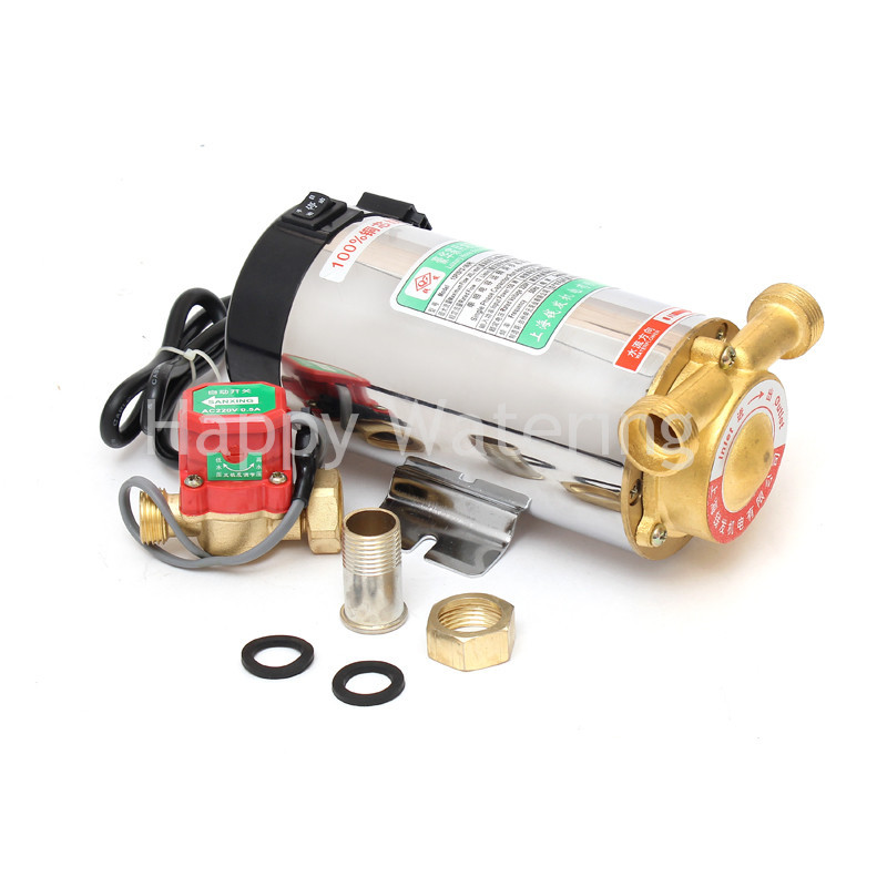 Household Automatic Gas Water Heater Solar Water Pressure Booster Pump 90W Pressure Pumps(China (Mainland))